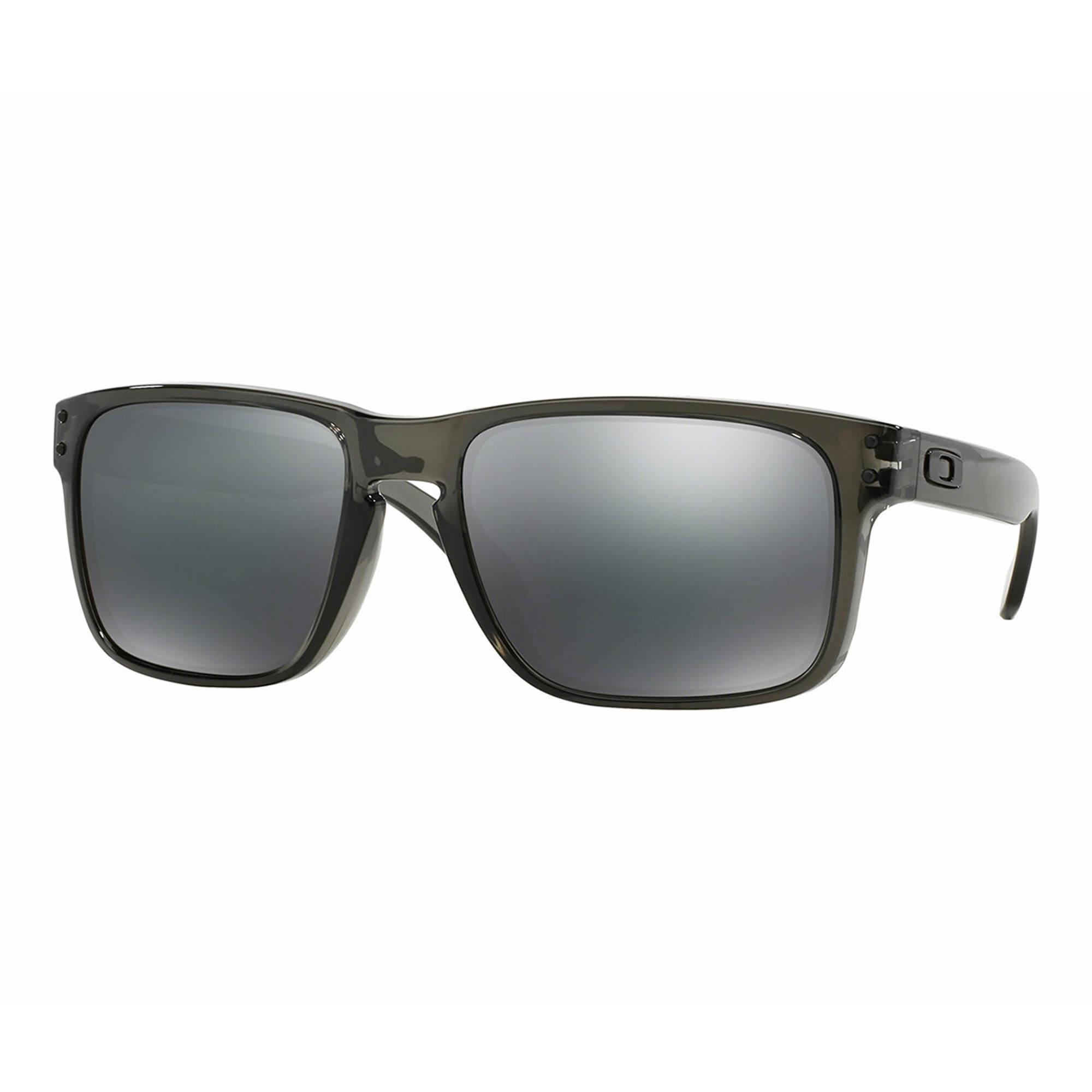 4e918e94e7 Oakley Holbrook Men s Sunglasses - Gray Smoke Frame Black Iridium ...