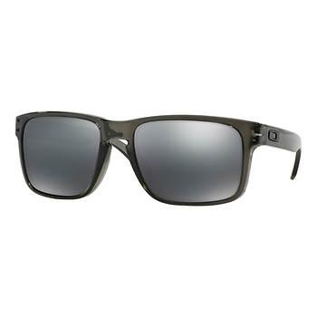 Oakley Holbrook Men\'s Sunglasses - Gray Smoke Frame/Black Iridium ...