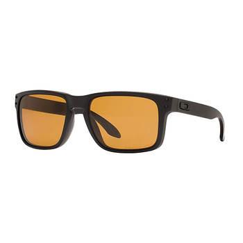 e083e53fdec Oakley Holbrook Men s Sunglasses - Matte Black Frame Bronze Polarized Lenses