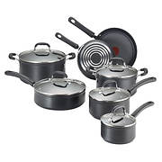T-fal 12-Pc. Forged Cookware Set