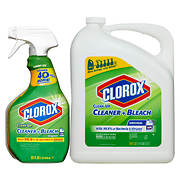 Clorox Clean-Up Cleaner with Bleach Spray Bottle, 32 oz. with Refill B