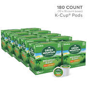 Green Mountain Coffee Breakfast Blend Decaf K-Cup Pods, 180 ct.