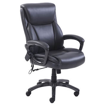 Broyhill Massage Office Chair Charcoal Bjs Wholesale Club