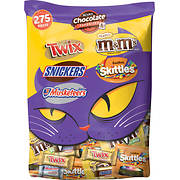 Mars Chocolate Favorites Halloween Candy Bars Variety Mix Bag, 275 ct.
