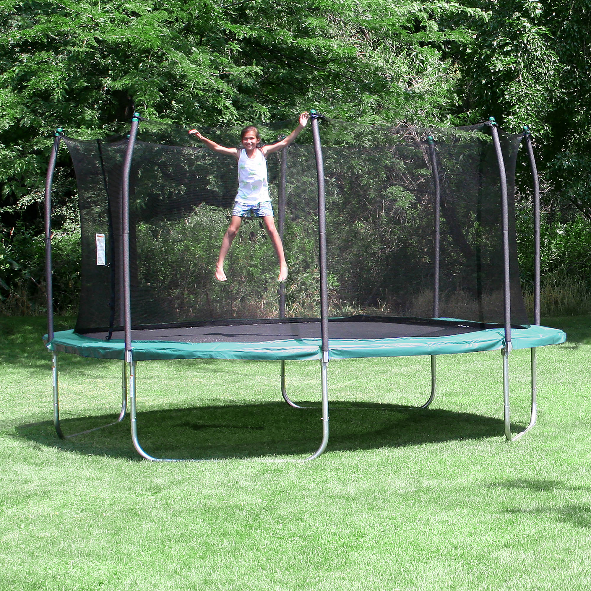 Skywalker Trampolines 15 Square Trampoline With Enclosure