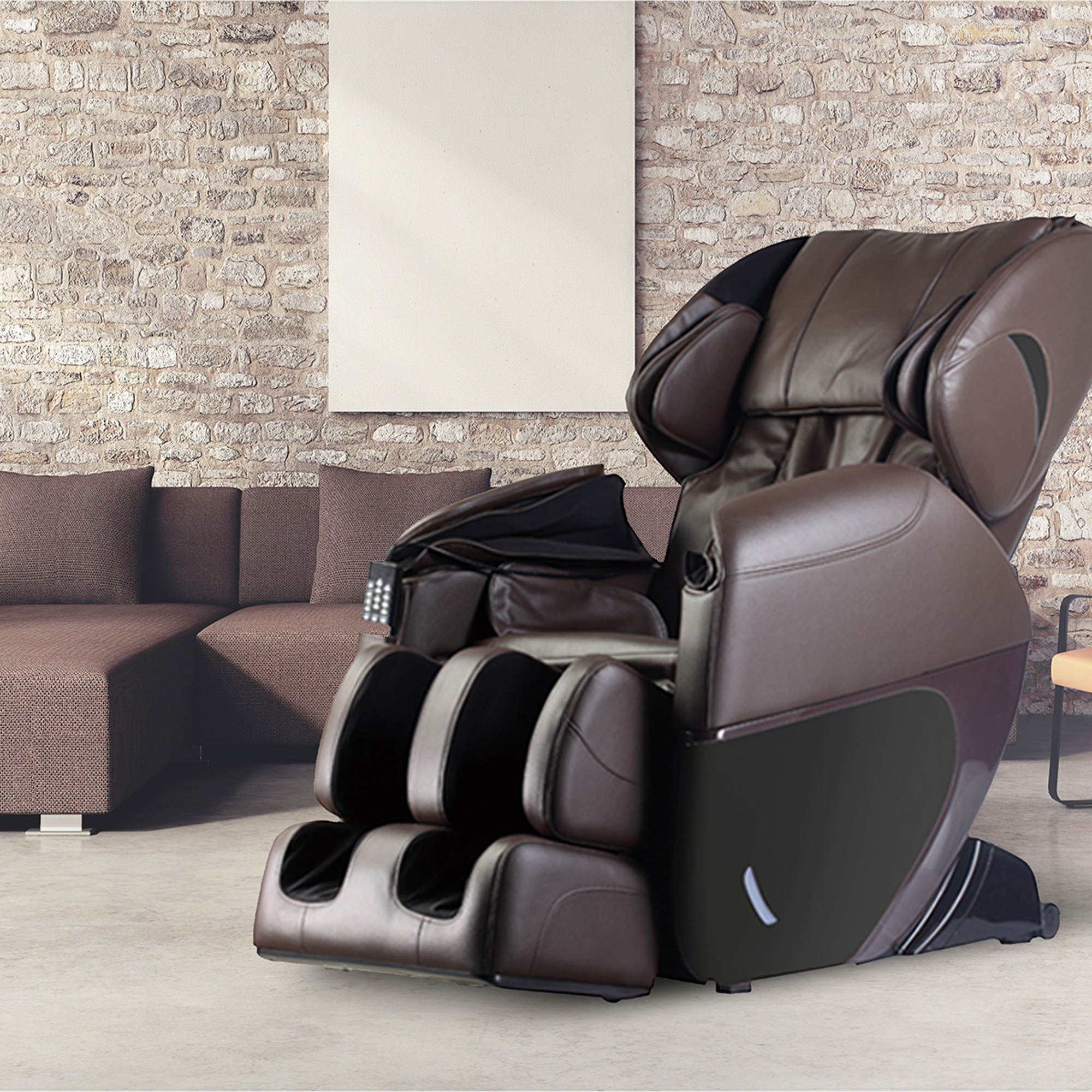 eSmart Therapeutic Total Body Massage Chair with 30 Airbags and 8 Back Massage Rollers