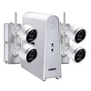 Lorex 6-Channel 4-Camera Wire-Free Security System with 1TB HDD DVR