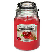 Yankee Candle Rosemary & Pomegranate Punch Candle, 19 oz.