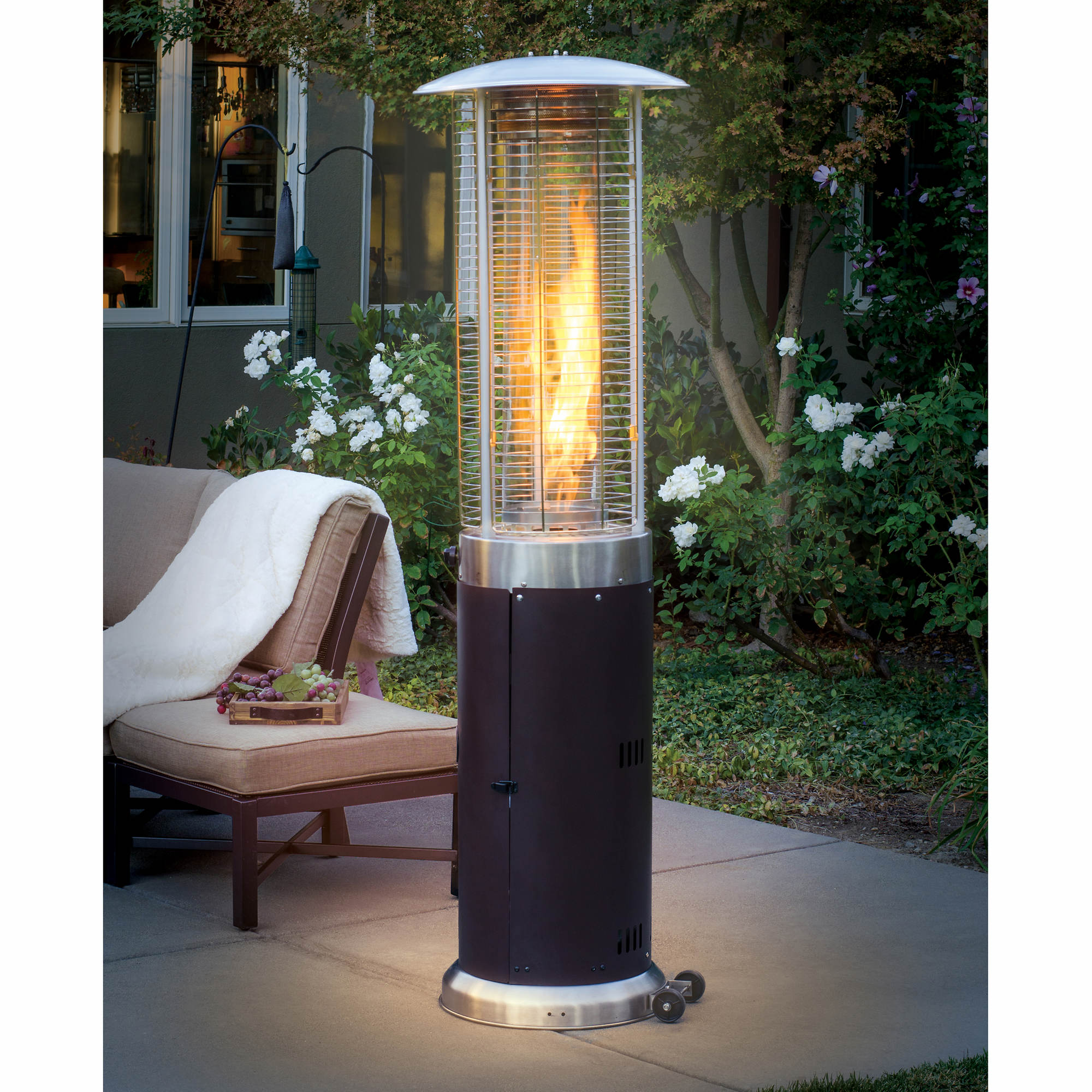 Bond Two-Tone 46000-BTU 6' Induction Patio Heater