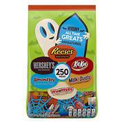 Hershey All Time Greats Miniatures Halloween Variety Pack, 250 ct.