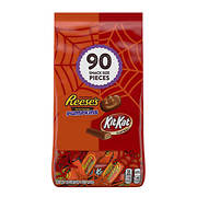 Reese's and Kit Kat Lovers Halloween Snack-Size Variety Pack, 90 ct.