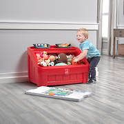 Step2 2-in-1 Toy Box & Art Lid - Red