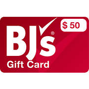 $50 BJ's Digital Gift Card