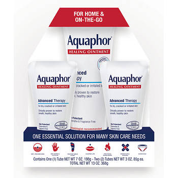 Aquaphor Healing Ointment 3 Pk Bjs Wholesale Club