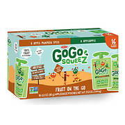 GoGo Squeeze Applesauce Pouches, 16 ct./3.2 oz.