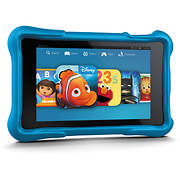 "Amazon Fire 7"" Kids Tablet, 16GB Memory - Blue"