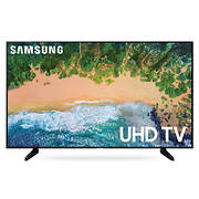 "Samsung UN65NU6950 65"" 4K Smart LED TV with White Glove Delivery"