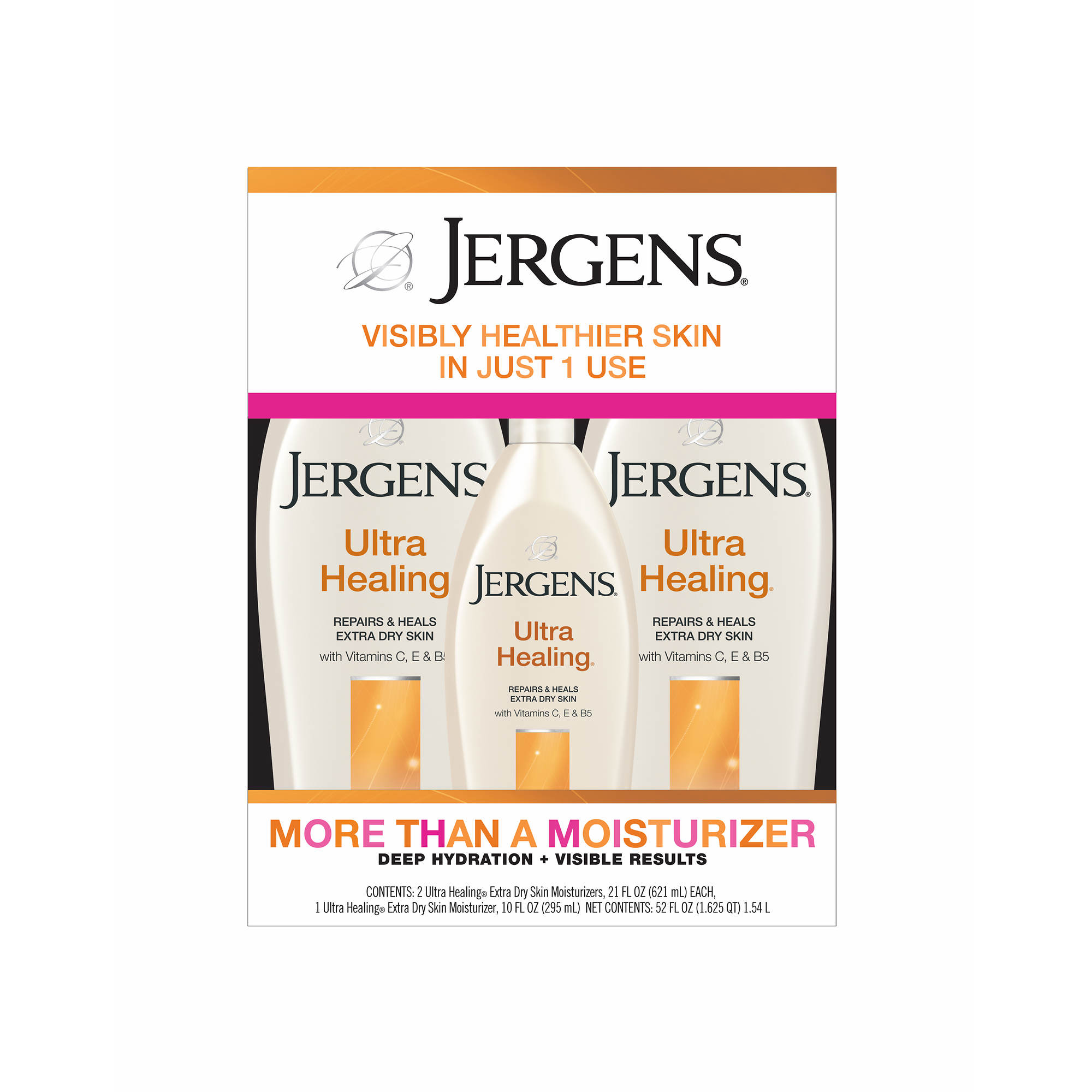 Jergens Ultra Healing Lotion 2 Pk 21 Oz With Bonus Bottle 10 Head Ampamp Shoulder Sampo Clean And Balanced 480 Ml 0 Undefined