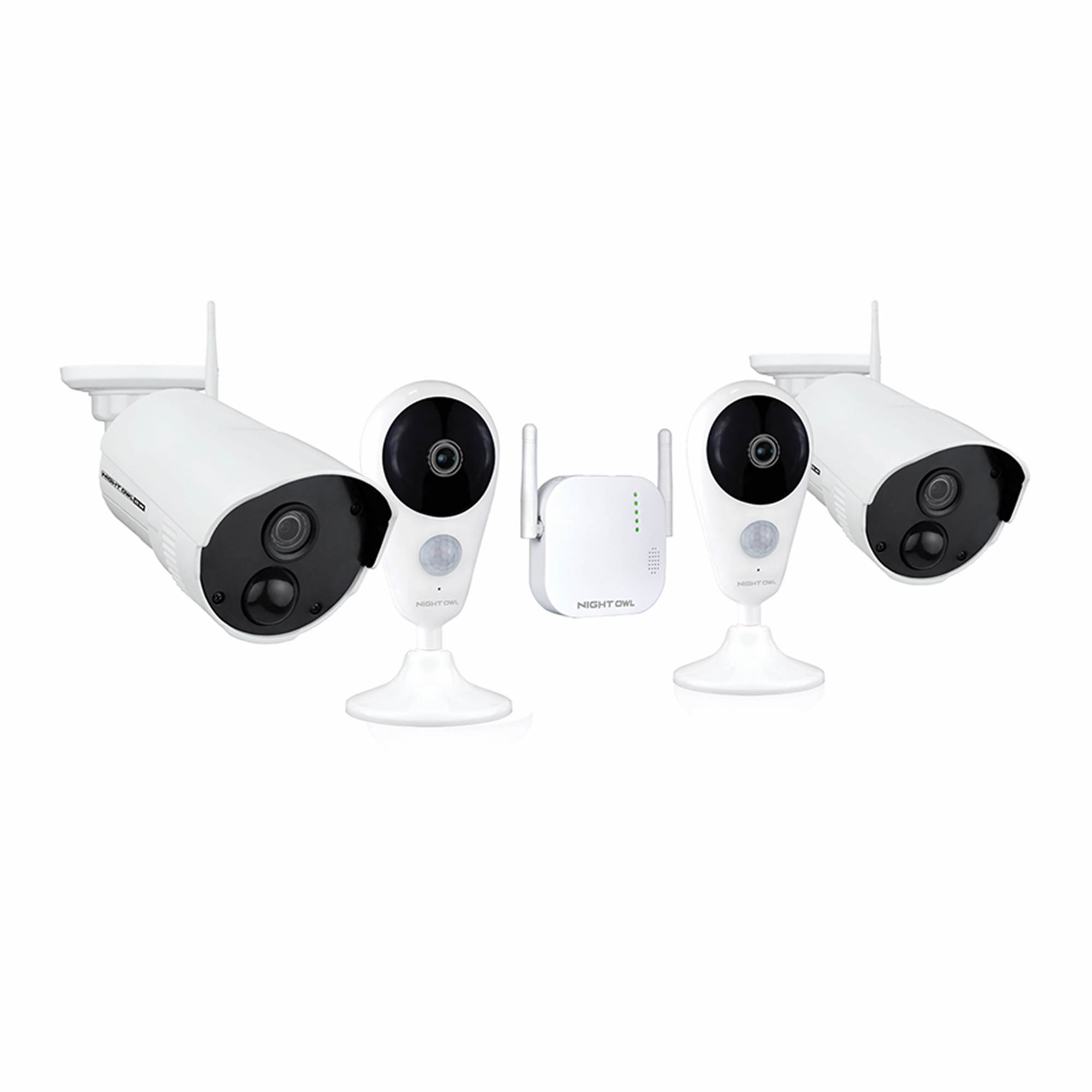 Night Owl 4 Camera 4 Channel 1080p Wireless Security