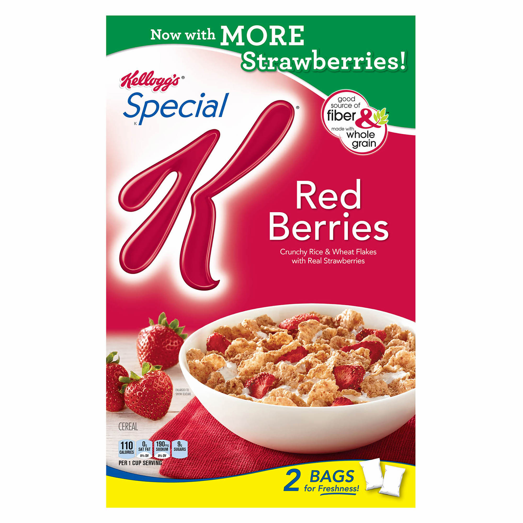 Kellogg's Special K With Berries Cereal, 43 Oz.