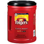 Folgers Classic Roast Coffee, 48 oz.
