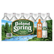 Poland Spring 100% Natural Spring Water with Sports Cap, Deposit, 24 p