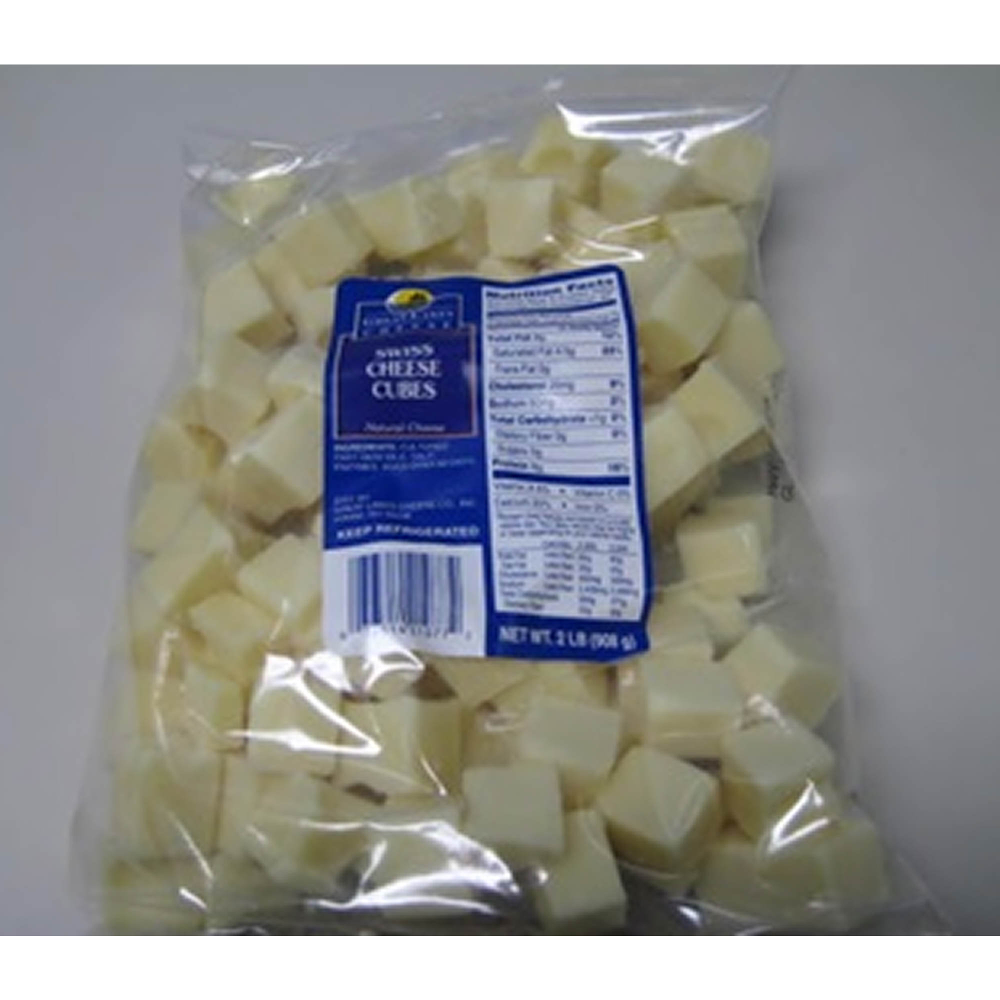Great Lakes Cheese Swiss Cubes, 2 lbs. - BJ's Wholesale Club