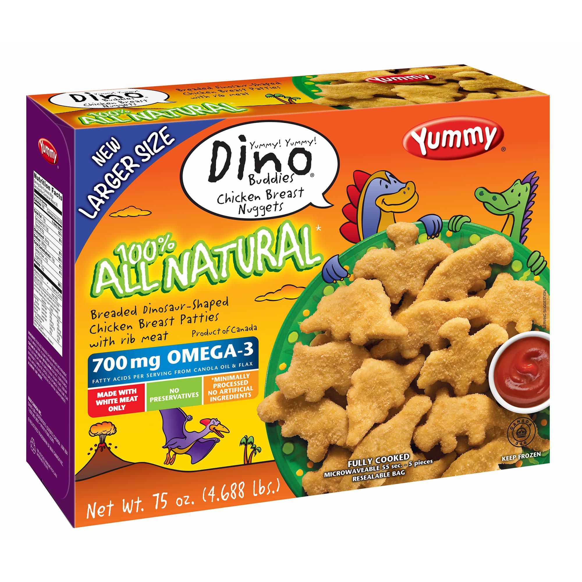 Yummy Dino Buddy All Natural Nuggets, 5 Pk./75 Oz.