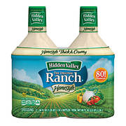 Hidden Valley Original Ranch Homestyle Salad Dressing Bottles, 2 pk./4