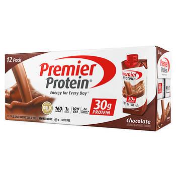 premier protein chocolate shake 12 ct 11 oz bjs wholesale club