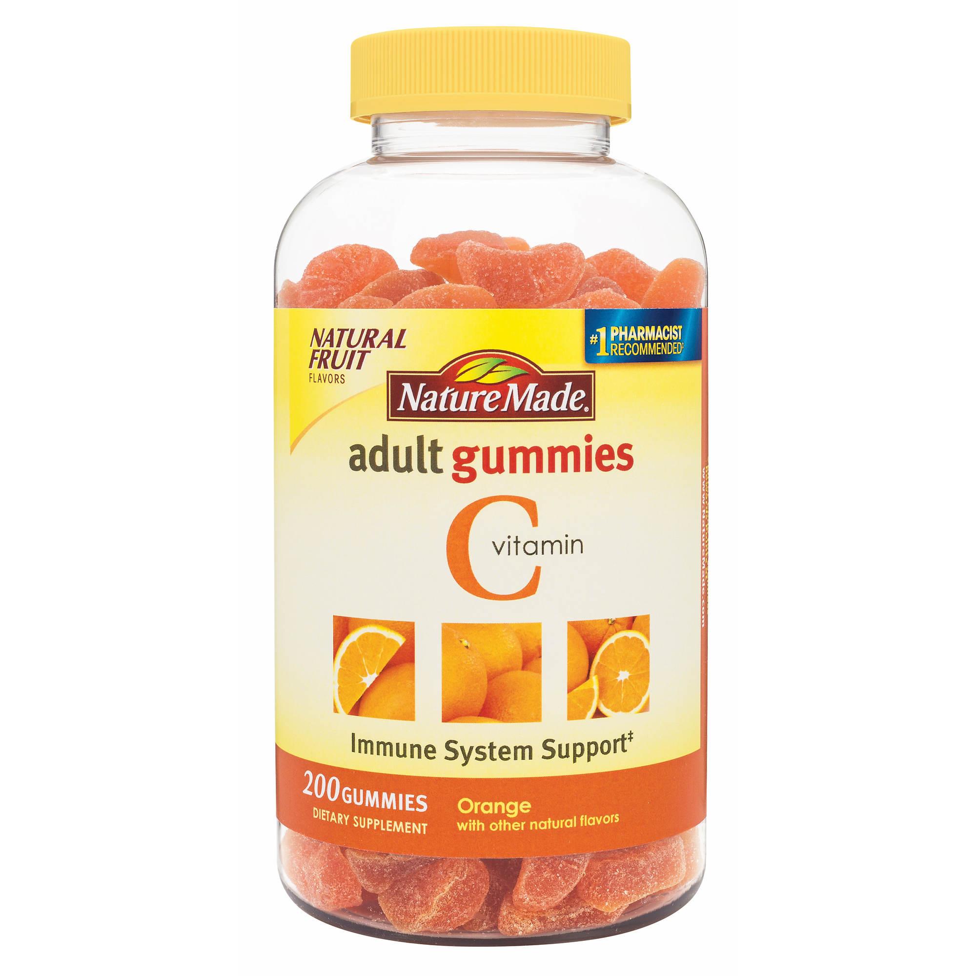 Nature Made Vitamin C Adult Gummies 200 Ct Bjs Wholesale Club Kirkland 1000mg 0 Undefined