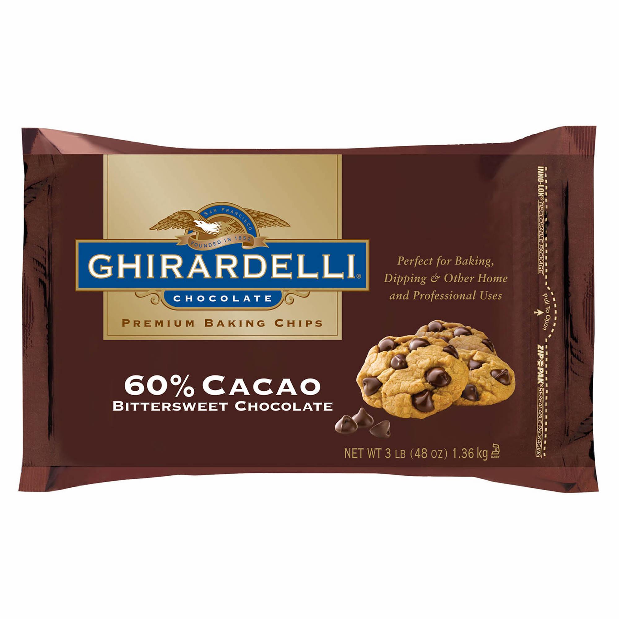 Ghirardelli Baking Chocolate Nutritional Information