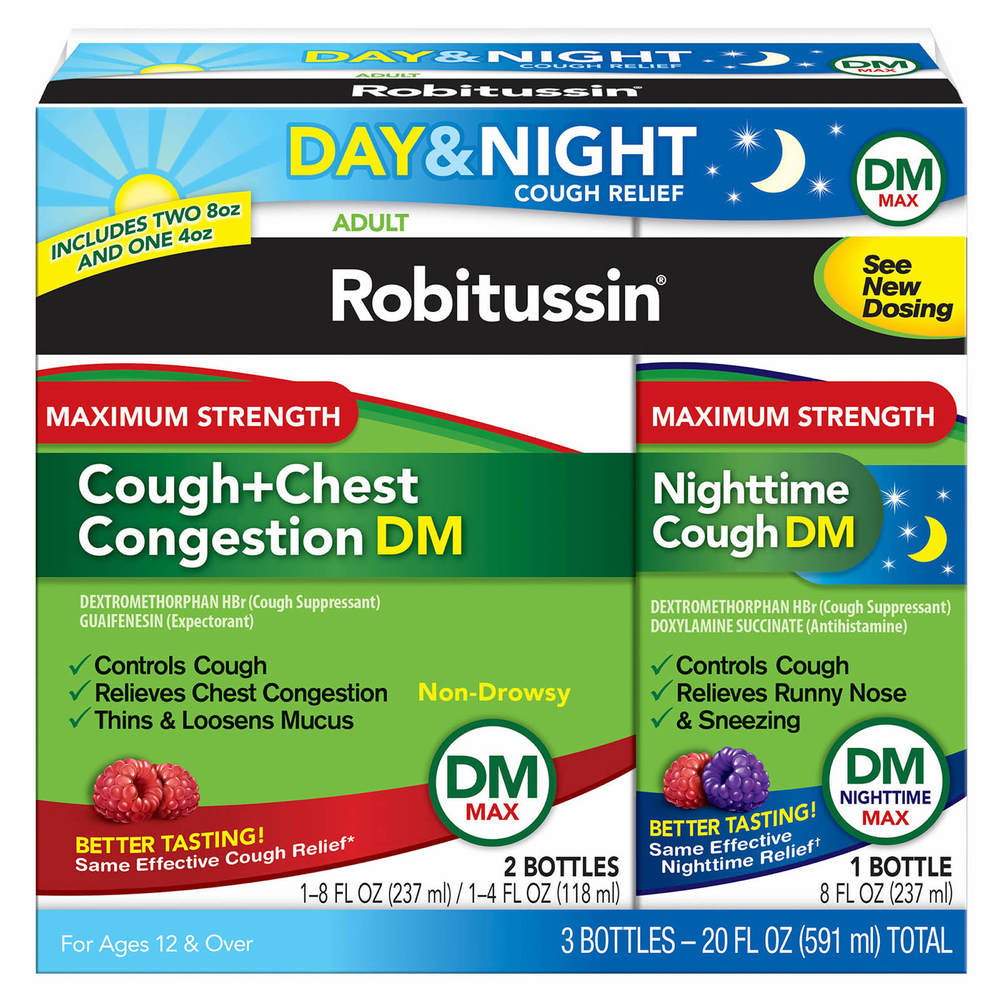 Robitussin Dm Max Cough And Chest Congestion Day Night 20 Oz Head Ampamp Shoulder Sampo Clean Balanced 480 Ml 0 Undefined