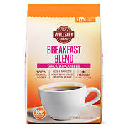Wellsley Farms Breakfast Blend Ground Coffee, 40 oz.