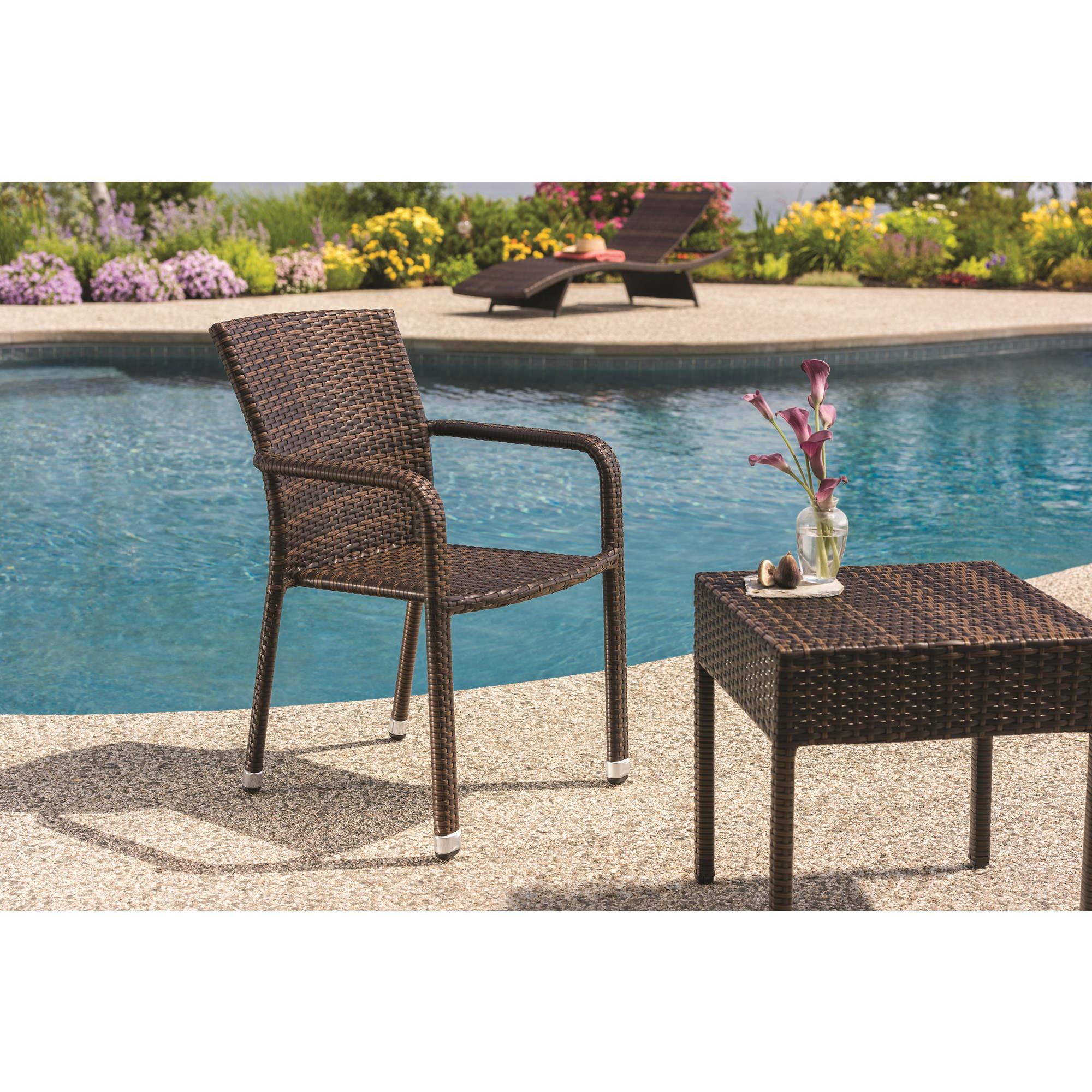 Prime Berkley Jensen Wicker Patio Stack Chair Dark Brown Cjindustries Chair Design For Home Cjindustriesco
