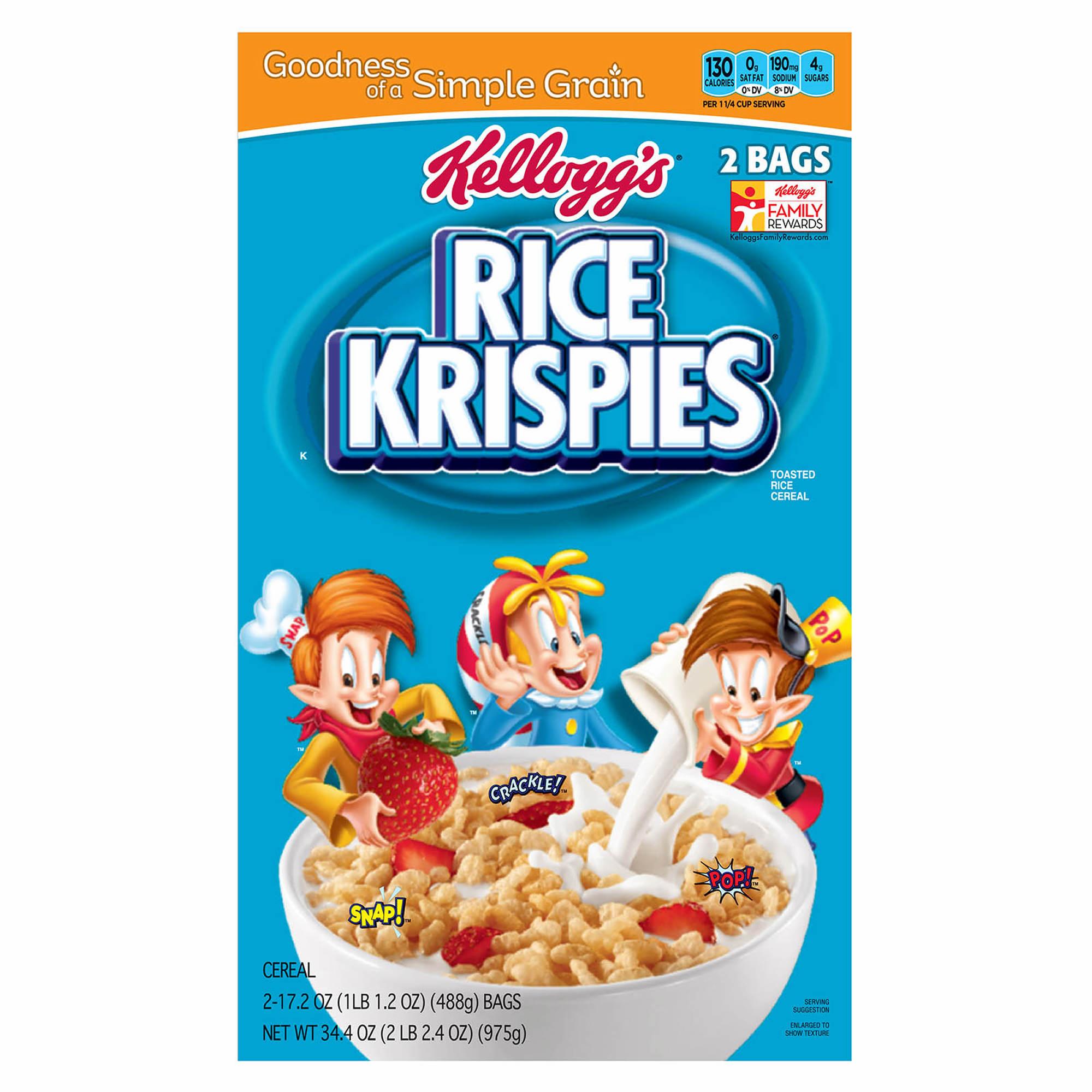 Rice Krispies: Kellogg's Rice Krispies, 2 Pk./17.2 Oz.