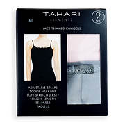 Tahari Elements Lace Trimmed Camisole, 2 pk.