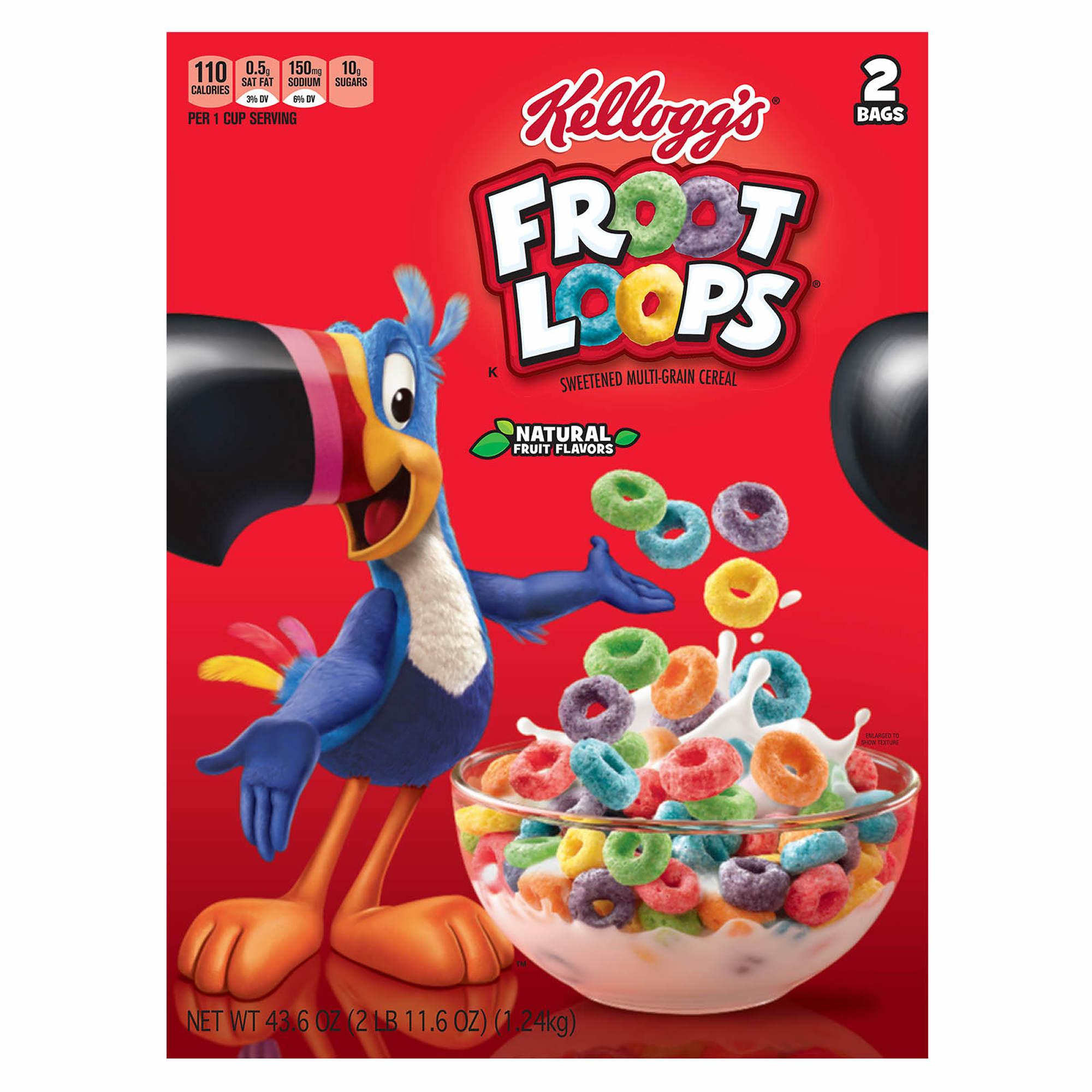 Kellogg's Froot Loops, 2 Pk./21.8 Oz.