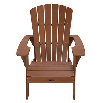 Lifetime Adirondack Chair Brown Bjs Wholesale Club