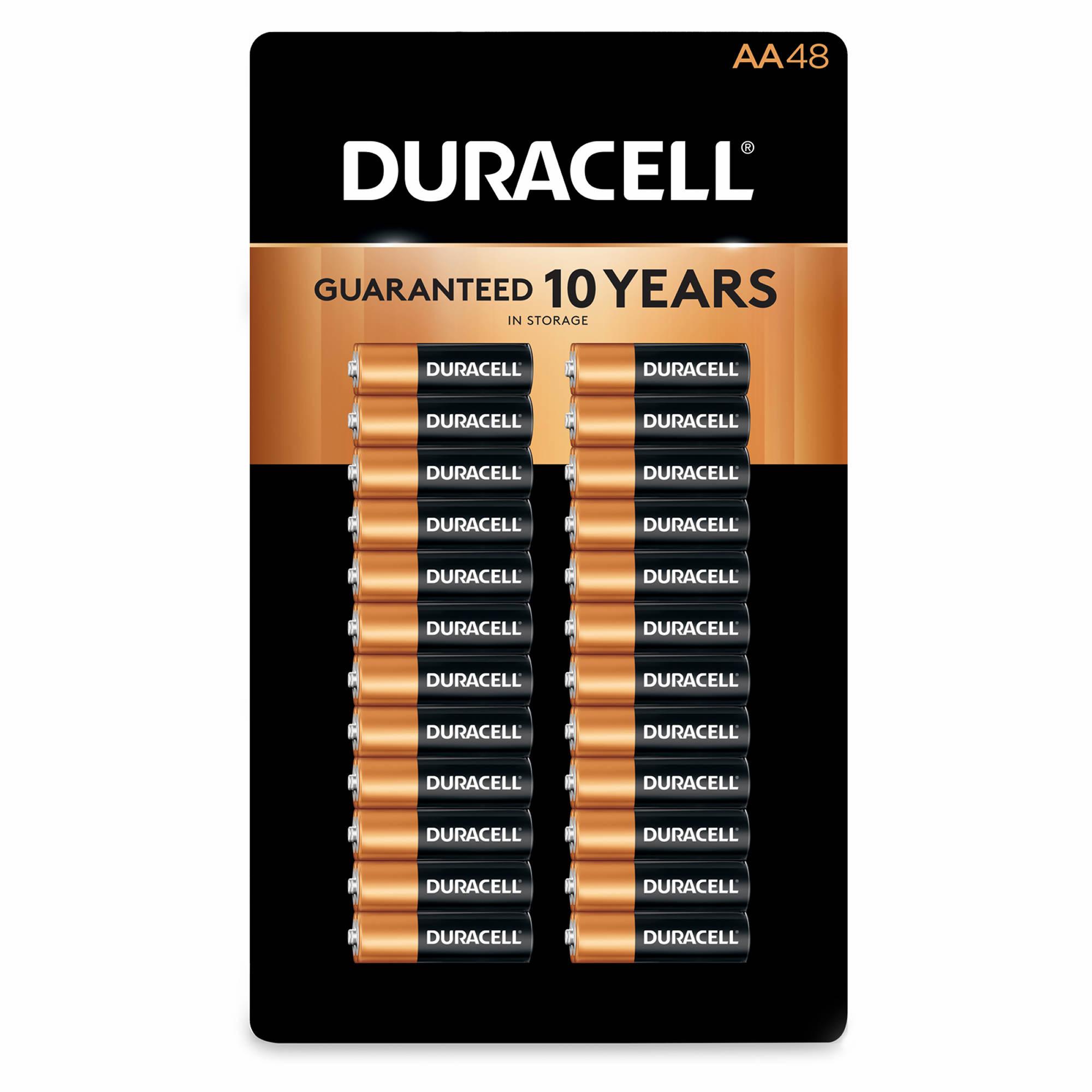 Duracell CopperTop AA Batteries, 48 ct. - BJs WholeSale Club