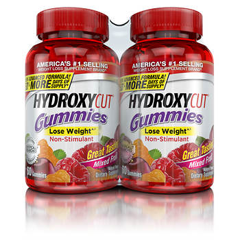 Hydroxycut Gummies 2 Pk60 Ct Bjs Wholesale Club