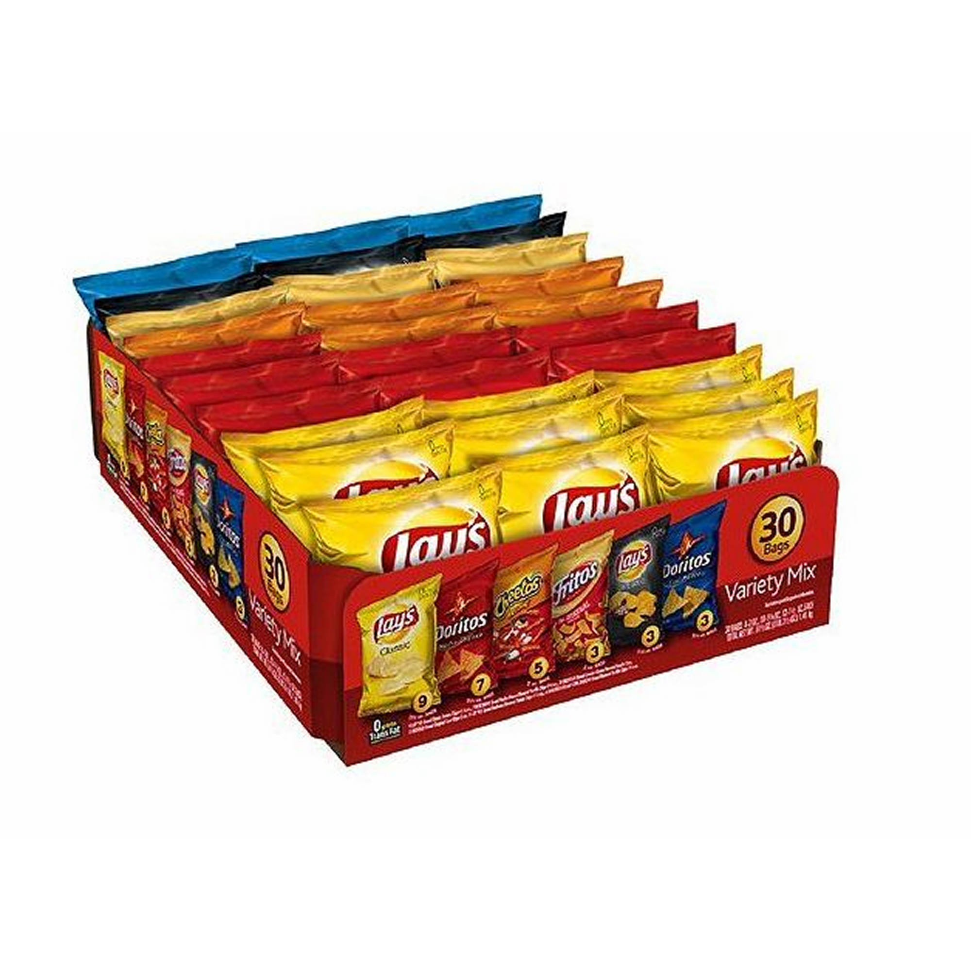 Frito lay variety pack : Bible verse questions