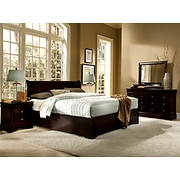 Beverly King-Size 6-Pc. Bedroom Set - Cappuccino