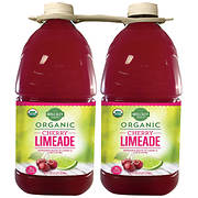 Wellsley Farms Organic Cherry Limeade, 2 pk./96 fl. oz.