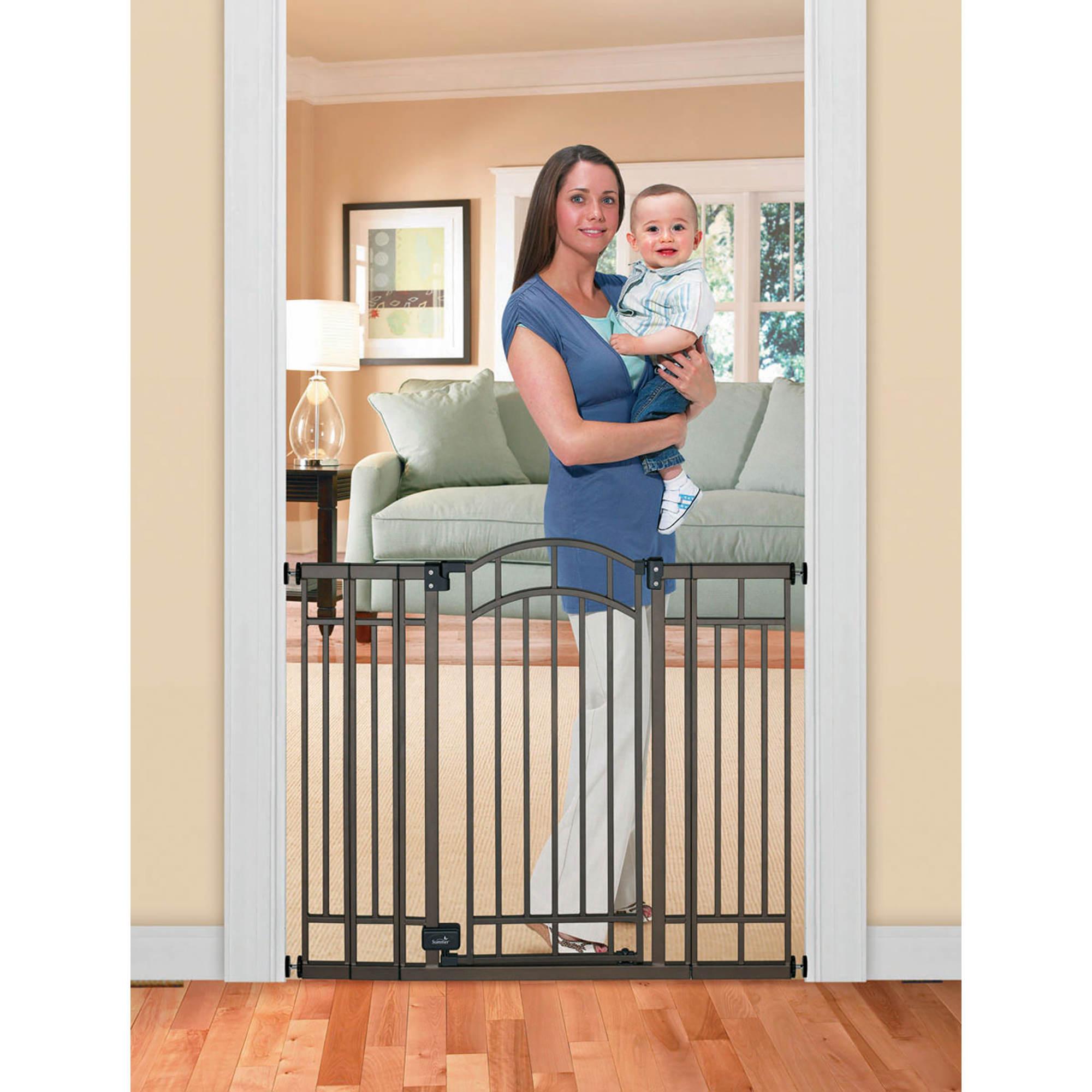 Summer Infant Extra Tall Walk Thru Metal Gate Bj S