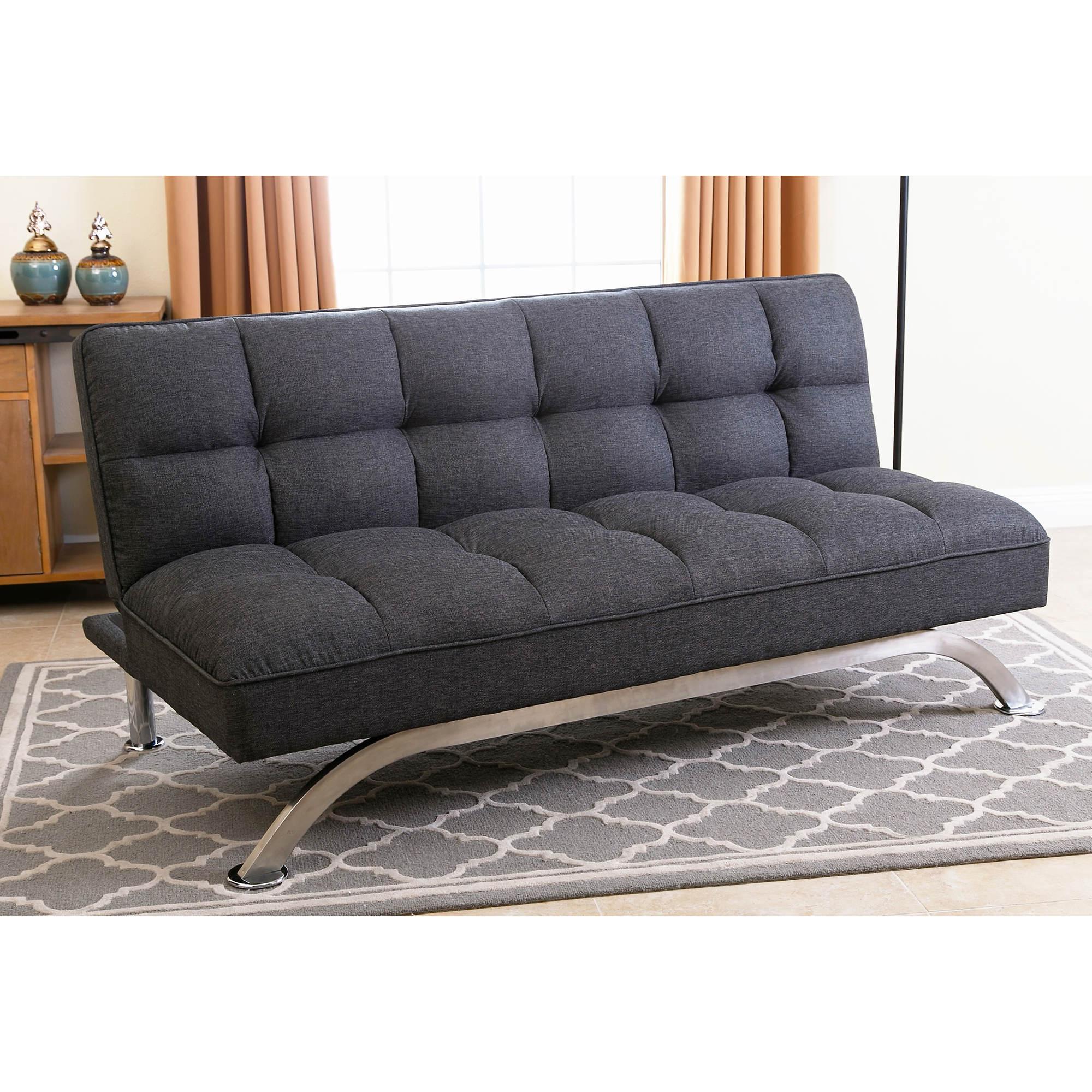 abbyson living belize click clack sofa gray bj 39 s wholesale club. Black Bedroom Furniture Sets. Home Design Ideas