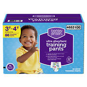 Berkley Jensen Training Pants for Boys, Size 3T-4T, 86 ct.