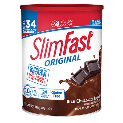 Slimfast Slimfast Meal Replacement Shake Mix, 31.18 Oz.