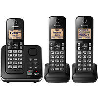 Panasonic KX-TG633SK DECT 6.0 PLUS 3-Handset Cordless Phone Deals
