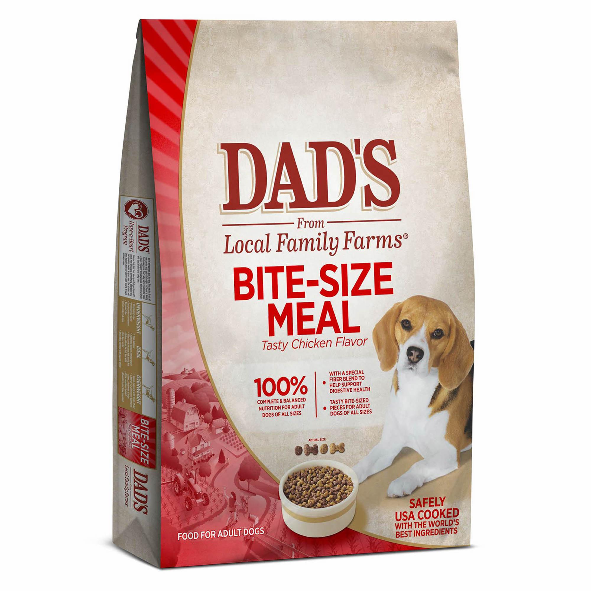 Dad S Bite Size Dog Food